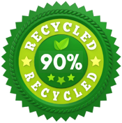 90 Percent Recycled-1